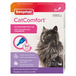 Beaphar apaisant Spot-On CatComfort 3 pipettes