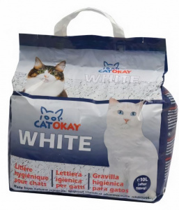 Catokay cat litter White 10 litres