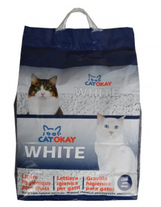 Catokay cat litter White 20 litres