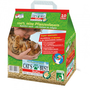 Cat's Best cat litter Original 10 L vegetable brown