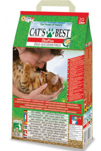 Cat's Best cat litter Original 20 L vegetable brown