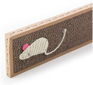 Cats Collection crabboard 38 x 12,5 x 2 cm sisal brun