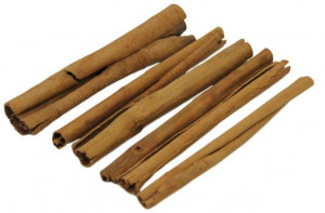 CeramicNature cinnamon sticks vegetable wood brown 6 pieces