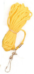 Competition leash Hond en Kat 5 metres nylon yellow