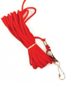 Competition leash Hond en Kat 5 metres nylon red