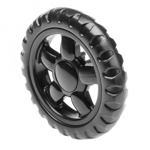 Ferplast rear wheel dog buggy Globetrotter 20 cm black