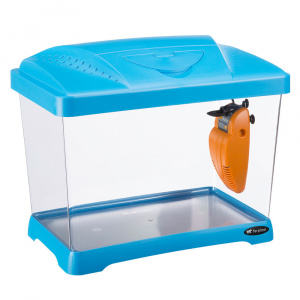 Ferplast aquarium Capri Junior 41 x 34 cm 21 liter blauw 3-delig