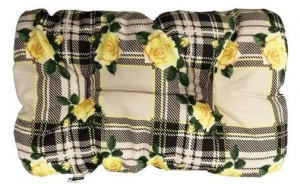 Ferplast dog cushion Atlas 49 x 26 cm textile grey/yellow