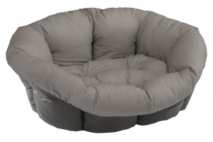 Ferplast animal basket Sofa 64 x 48 cm velvet/polyester grey