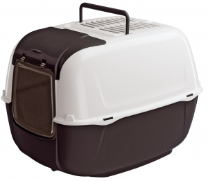 Ferplast litter box Prima Convertible 39,5 cm black/white