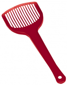 Ferplast cat litter scoop 27,5 x 10,4 cm red