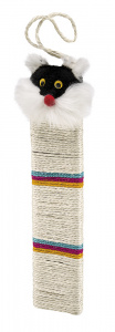 Ferplast scratching post 42 cm polyester white