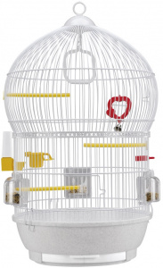 Ferplast birdcage Bali Antique 43,5 x 68,5 cm steel white