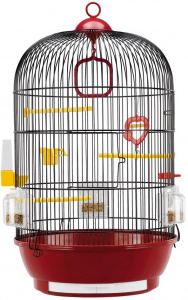 Ferplast birdcage Diva 40 x 65 cm steel red