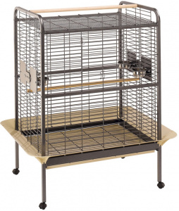 Ferplast birdcage Expert-100 steel 124,5 x 156 cm black/brown