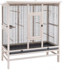 Ferplast birdcage Wilma Large 131,5 x 67 x 153 cm wood brown