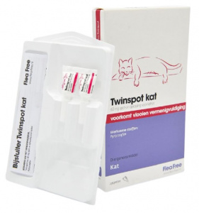 Flea Free anti-puces Twinspot 2x 60 mg