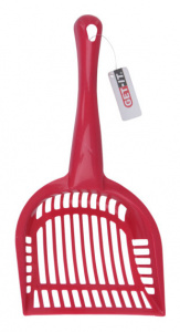 Get-It cat scoop 28 cm polypropylene red