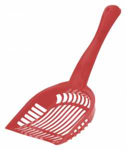 Get-It litter box scoop 28 cm polypropylene red