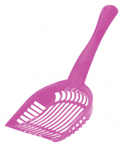 Get-It litter box scoop 28 cm polypropylene pink