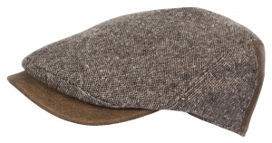 HORKA Donegal tweed pet heren bruin