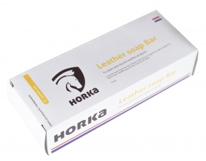 HORKA leerverzorging Soap Bar 250 gram naturel per stuk