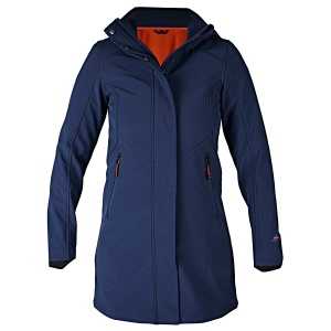 HORKA outdoorjas Glory dames polyester blauw