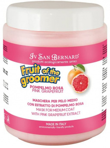 I.S.B. masker Pink Grapefruit Fruit of the groomer 1000 ml roze