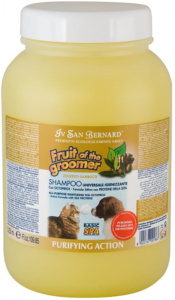 I.S.B. shampoo Ginger & Elderberry 3250 ml geel