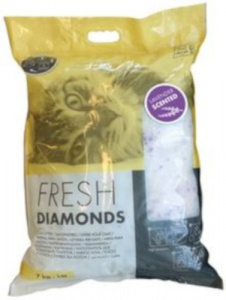 M-Pets cat litter Fresh Diamonds 15 litres white