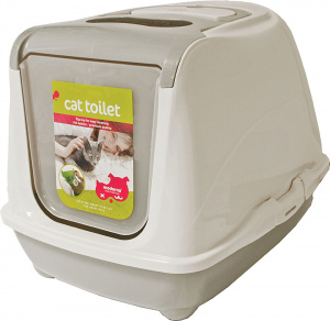 Moderna litter box Flip 50,5 x 38,5 cm grey/white