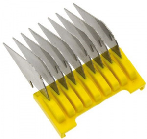 Moser shaving head Rex/Arco 16 mm steel yellow/silver