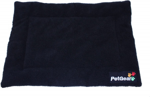 PetGear dog mat 76 x 53 cm wool/polyester black