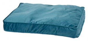 Pets Collection dog cushion 70 x 55,5 x 10 cm polyester blue