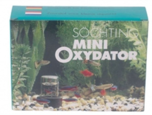Sochting mini oxidator 10 x 15 cm black/transparent
