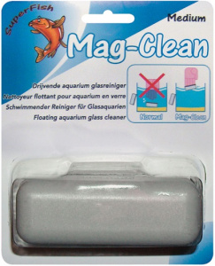 Superfish aquarium glasreiniger Mag Clean Medium wit