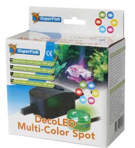 Superfish aquarium spot DecoLED 12,1 x 13,5 cm black