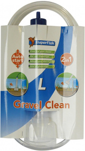 Superfish grind- en glasreiniger Gravel Clean 2-in-1 maat L