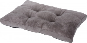 TOM dog cushion 82 x 58 x 8 cm fleece grey
