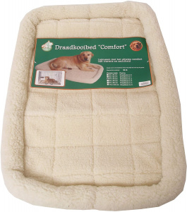 TOM dog mattress for cage Comfort 67 x 43 cm plush beige