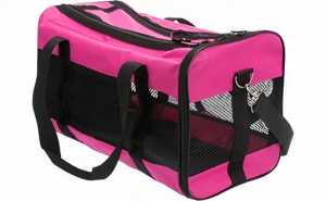 Trixie dierendraagtas Ryan 47 x 26 cm polyester roze