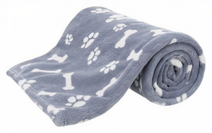 Trixie dog blanket Kenny 150 x 100 cm polyester plush blue