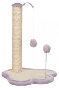 Trixie scratching post Junior Poot 40 x 38 cm sisal lilac
