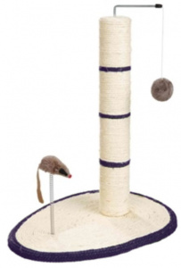 Trixie scratching post Scratch Me 40 x 30 cm sisal cream