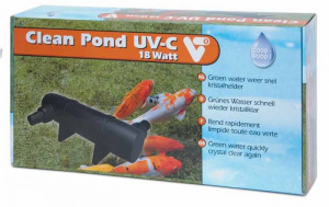 Velda UV-C filter Clean Pond 18 watt polyetheen zwart